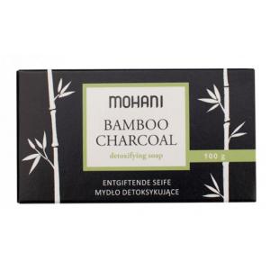 Czarne mydło z aktywnym węglem bambusowym MOHANI