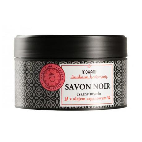 Savon Noir - marokańskie czarne mydło z olejem arganowym 200g MOHANI