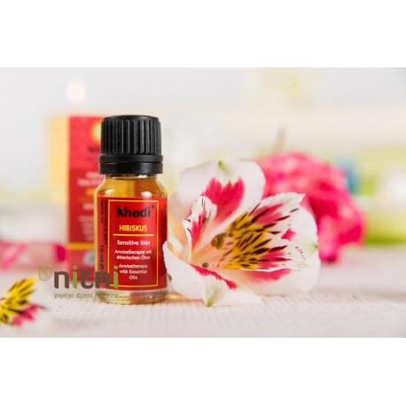 Ajuwerdyjski olejek z hibiskusem KHADI 10 ML