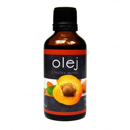 Olej z pestek moreli zimnotłoczony kosmetyczny 50 ml
