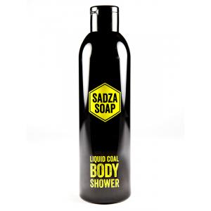 SADZA SOAP żel pod prysznic z węglem aktywnym ze Śląska, 250 ml