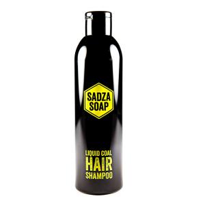 SADZA SOAP szampon z węglem aktywnym ze Śląska, 250 ml