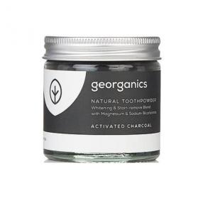 GEORGANICS Proszek do czyszczenia zębów, naturalny, nietoksyczny, 60 ml