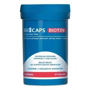 Bicaps Biotyna, 60 kapsułek, ForMeds