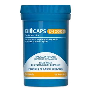 Bicaps D3 2000, 120 kapsułek, ForMeds