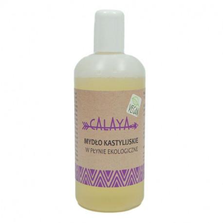 Mydło kastylijskie w płynie ekologiczne, Calaya, 200 ml