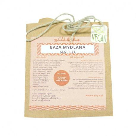 Baza mydlana glicerynowa SLS FREE- przeźroczysta, Calaya, 100 g