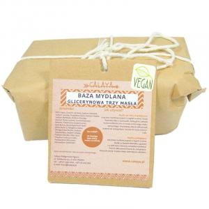 Baza mydlana glicerynowa Trzy Masła, Calaya, 100 g