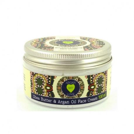 Argan My Love Krem do twarzy z masłem shea i olejem arganowym, 100 ml