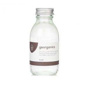 GEORGANICS Hipoalergiczny olej do płukania ust - Cysty olej kokosowy bez olejków eterycznych Pure Coconut 100 ml