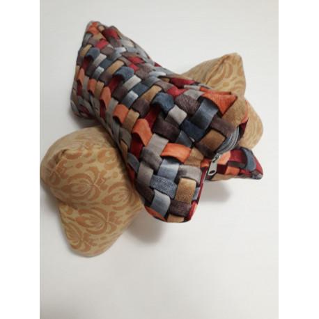 Poduszka gryczana w kształcie kości
