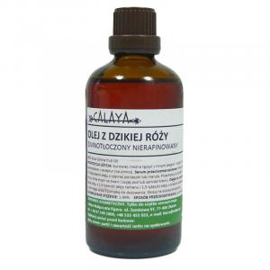 Olej z dzikiej róży Zimnotłoczony Nierafinowany 50 ml