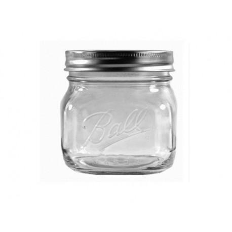 Стеклянная банка Ball Wide Mouth Pint Mason Jars - 16 oz (455 мл)