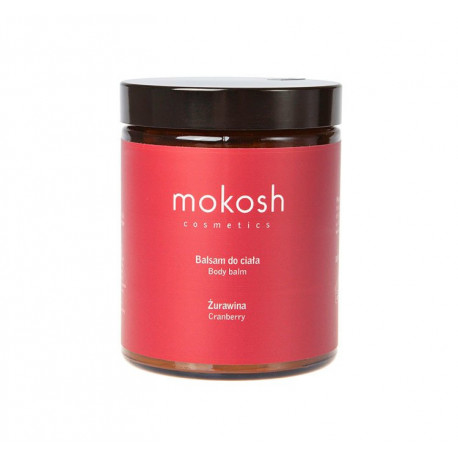 Masło do ciała - żurawina, Mokosh, 120ml
