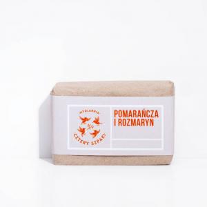 Mydło - pomarańcza i rozmaryn, Cztery Szpaki, 110g