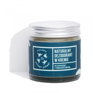 Naturalny dezodorant w kremie, Cztery Szpaki, 60ml