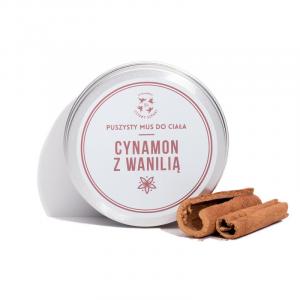 Mus do ciała - cynamon z wanilią, Cztery Szpaki, 150ml