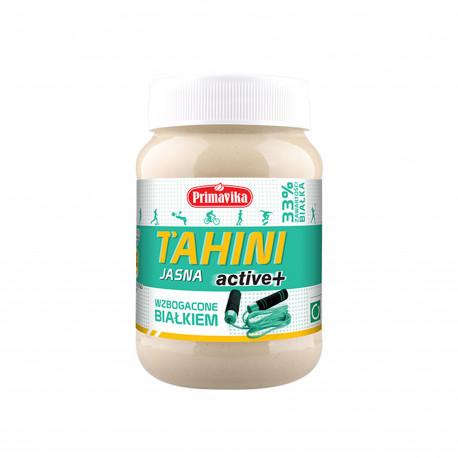 Tahini Active jasne wzbogacone białkiem 460 g