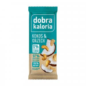 Baton DOBRA KALORIA kokos & orzech 35 g