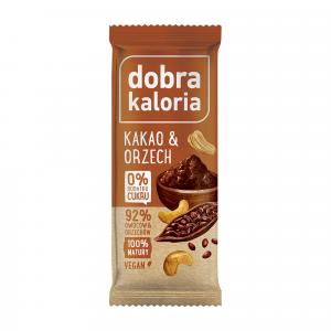 Baton DOBRA KALORIA kakao & orzech 35 g
