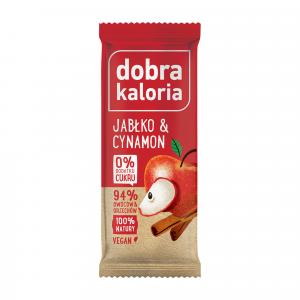 Baton DOBRA KALORIA jabłko & cynamon 35 g