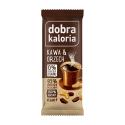 Baton DOBRA KALORIA kawa & orzech 35 g