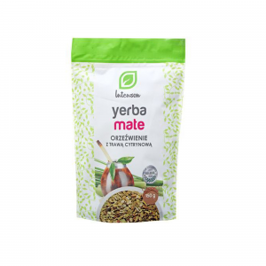 Yerba Mate orzeźwienie z trawą cytrynową, Intenson, 150 g
