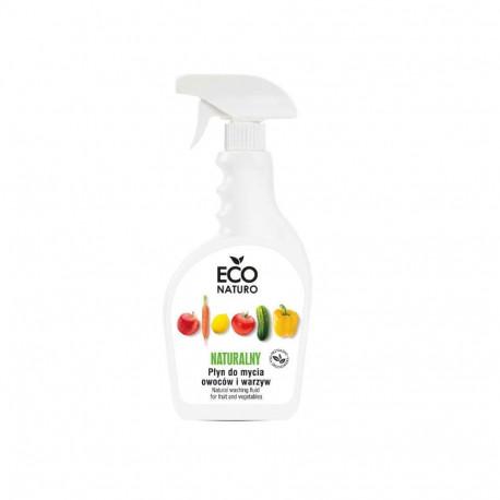 Płyn do mycia owoców i warzyw naturalny, Eco Naturo, 500 ml
