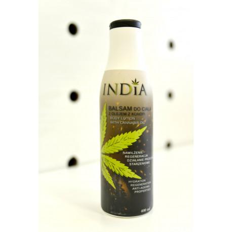 Balsam do ciała - nasiona konopi 400 ml
