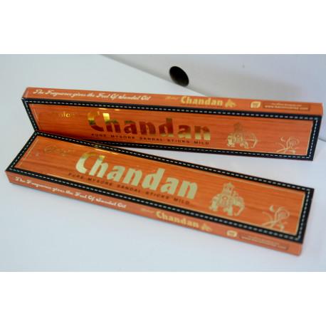 Kadzidła indyjskie - Chandan (15szt)