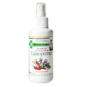 Aktywne ziołowe serum na porost włosów, 150 ml, Agafia