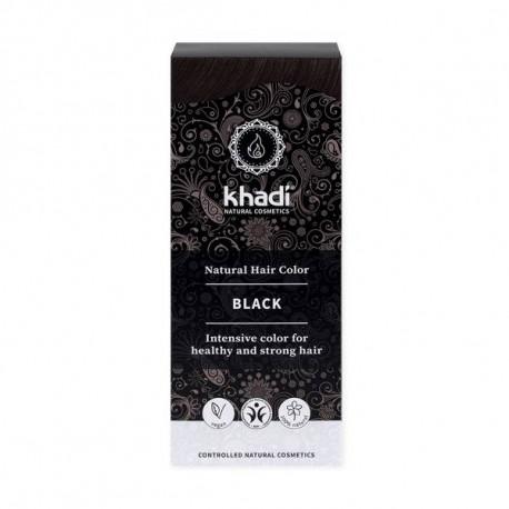 Khadi Naturalna Henna Czarna 100g