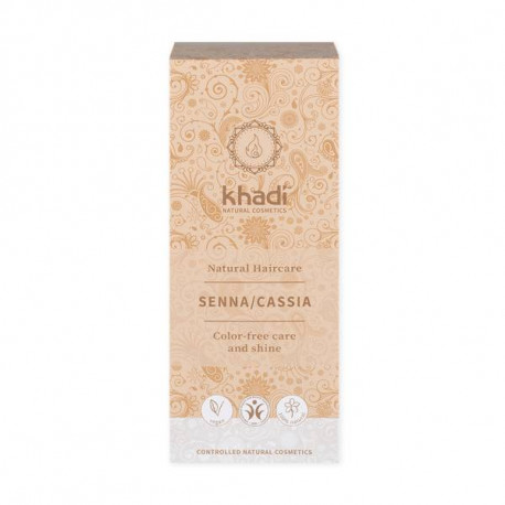 khadi natural haircare SENNA/CASSIA bezbarwna henna 100g