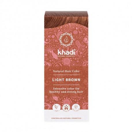 Henna do włosów Khadi – Jasny Brąz