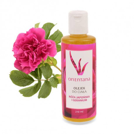 Olejek do ciała - Róża japońska i geranium