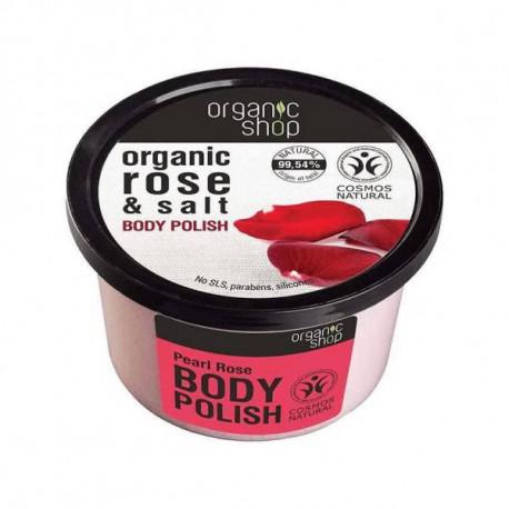 Organic Shop Perłowa Róża Organiczny Peeling do Ciała 250ml