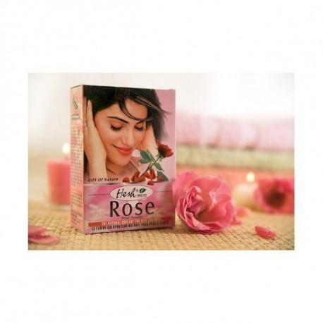Maseczka z płatków róży - Rose, 50g, Hesh