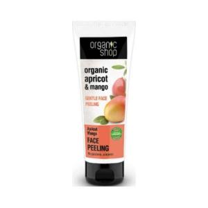 Delikatny peeling do twarzy - Morela i mango