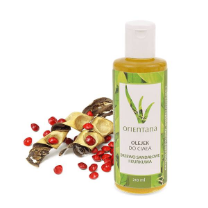 Olejek do ciała - Drzewo sandałowe i kurkuma