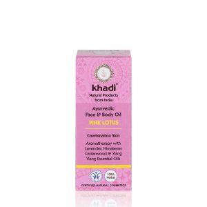 Olejek do twarzy i ciała z różowym lotosem 10 ml