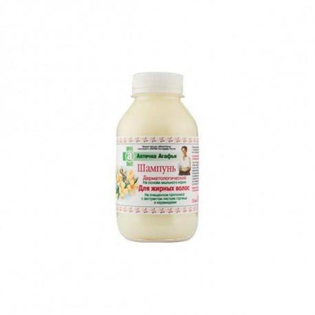 Babuszka Agafia - Szampon dermatologiczny włosy TŁUSTE 300ml