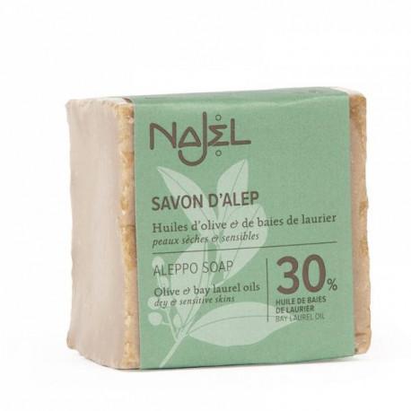 Mydło Aleppo 30% oleju laurowego, 200g, Najel