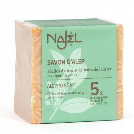 Mydło Aleppo z 5% olejku laurowego, 150g, Najel