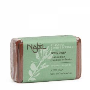 Mydło Aleppo - Olej arganowy i glinka rhassoul
