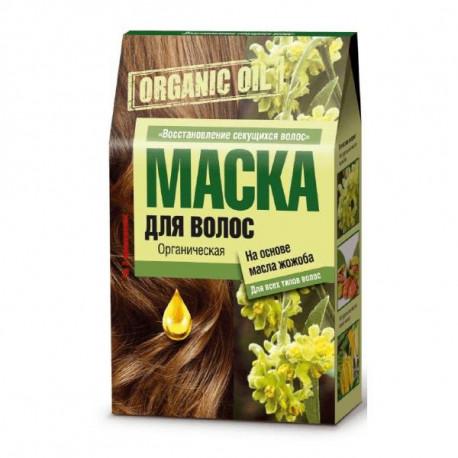 Organic Oil - Maska do włosów na bazie olejku jojoba, Fitokosmetik