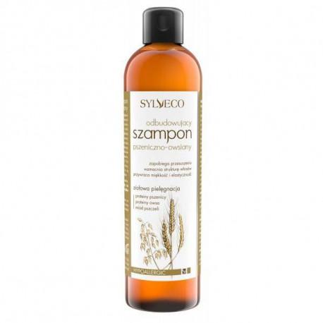 Odbudowujący szampon pszeniczno-owsiany, 300ml, Sylveco