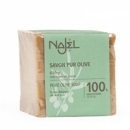 100% mydło oliwne, 170g, Najel
