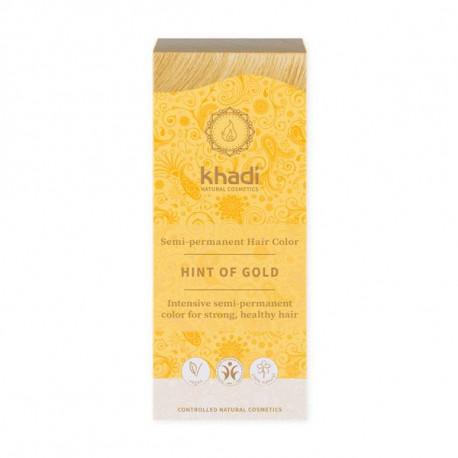Henna naturalna - Złoty blond, 100g, Khadi