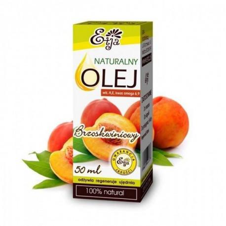 Naturalny olej brzoskwiniowy, 50ml, Etja