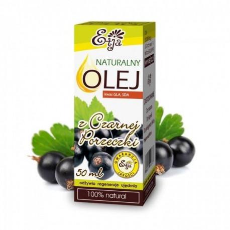 Naturalny olej z czarnej porzeczki, 50ml, Etja